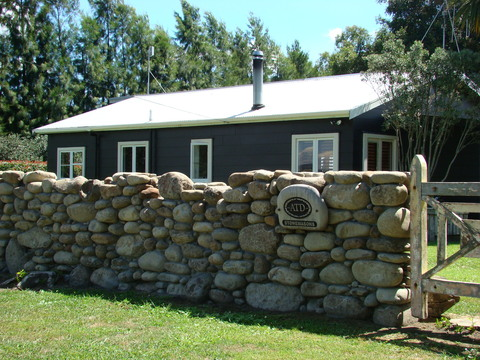 Gorgeous Cottage Stone Wall